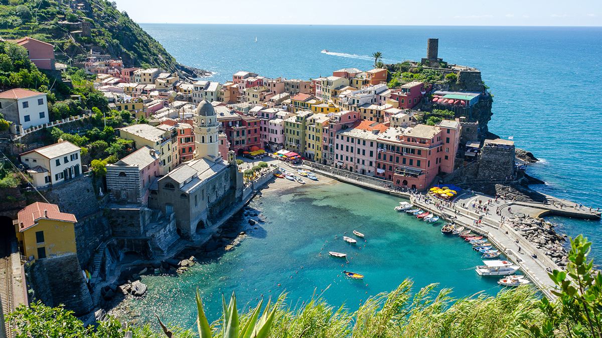 Liguria cosa vedere hotel doria varazze - Cinque terre dove fare il bagno ...